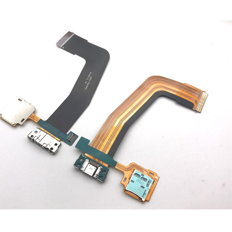 Новое зарядное устройство Порт док-плата для Samsung Galaxy Tab S 10,5 T800 Mic док-станция разъем Плата USB зарядный порт гибкий кабель Замена