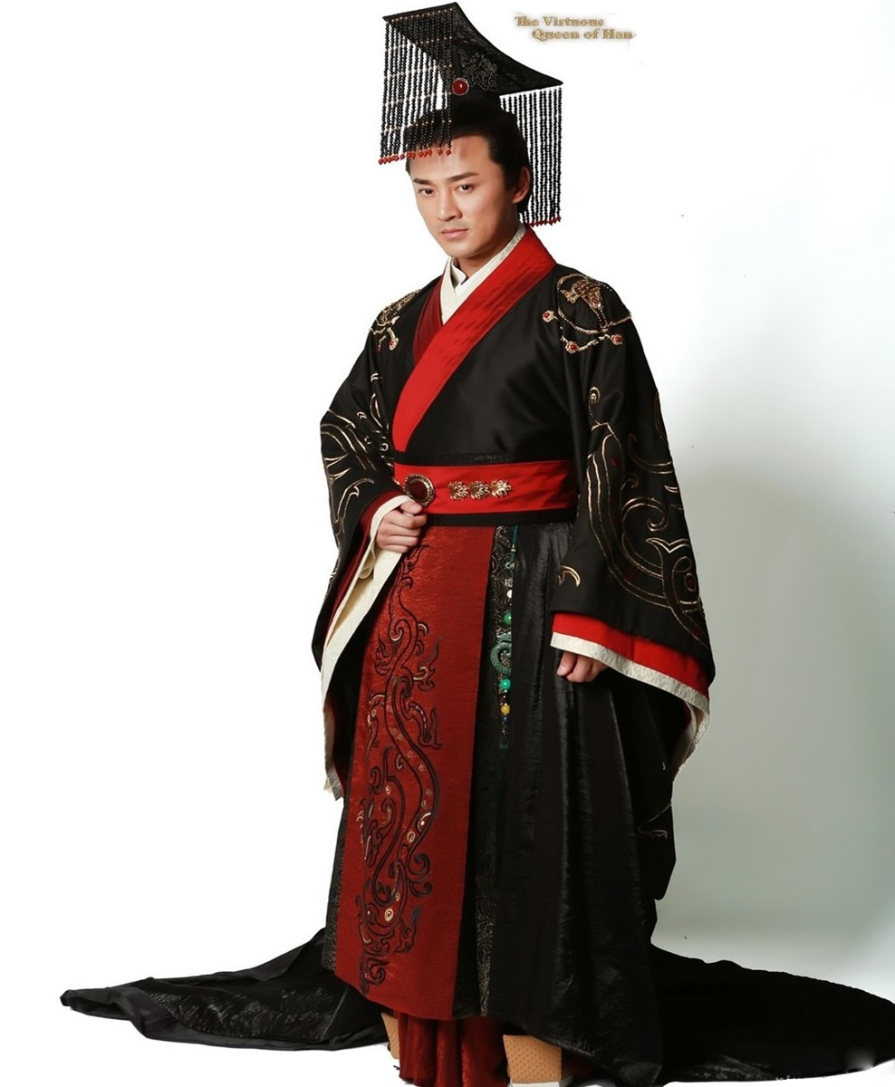 De alta calidad de la antigua China Príncipe traje de emperador traje empereur chino et traje de Príncipe Disfraz de emperador de China
