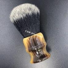 CSB Imitation corne de boeuf smoking synthétique cheveux rasage brosse noeud 24mm Salon de coiffure outil de Salon de coiffure