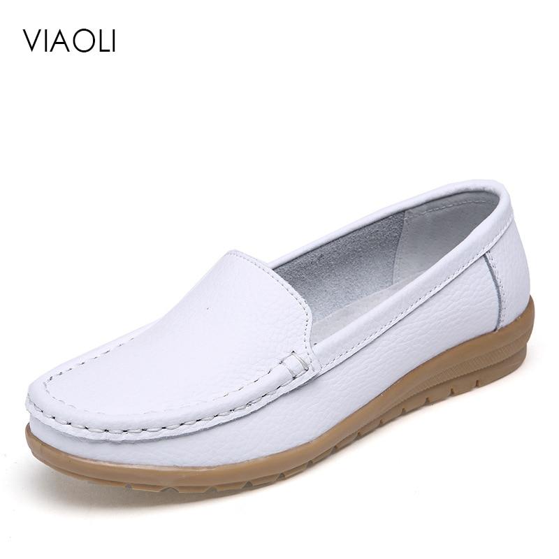Zapatos médicos Viaoli 2019 de verano para Hospital, zapatos de cuña antideslizantes para enfermeras y médicos, zapatos para embarazadas, zapatos de trabajo para cirugías transpirables