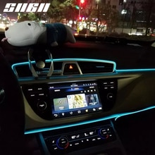 SNCN-bande lumineuse intérieure de voiture   Néon Flexible, série de lumières dambiance pour Toyota RAV4 Camry Corolla 86 Sienna Tacoma Yaris Tundra 5m