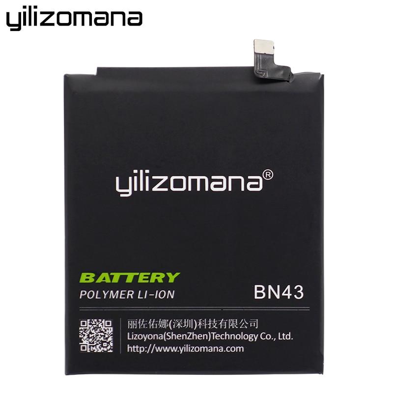 YILIZOMANA Phone Battery BN43 For Xiaomi Redmi Note 4X Hongmi Note4X Snapdragon 625 4000mAh Replacement Mobile Phone Batteries enlarge