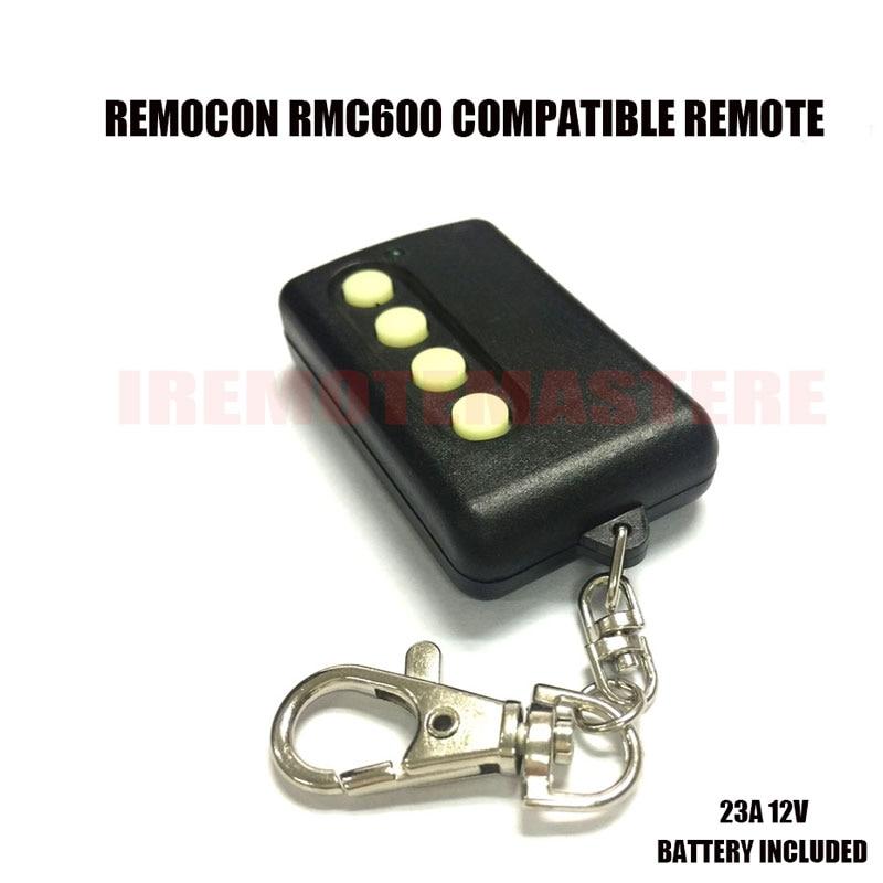 10 Uds auto-aprendizaje modelo RMC-600 Remocon RMC600 puerta de garaje remote fino