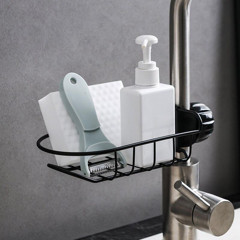 Estantes de baño de hierro soportes de almacenamiento escurridor de baño organización estante suministros de accesorios para el hogar productos
