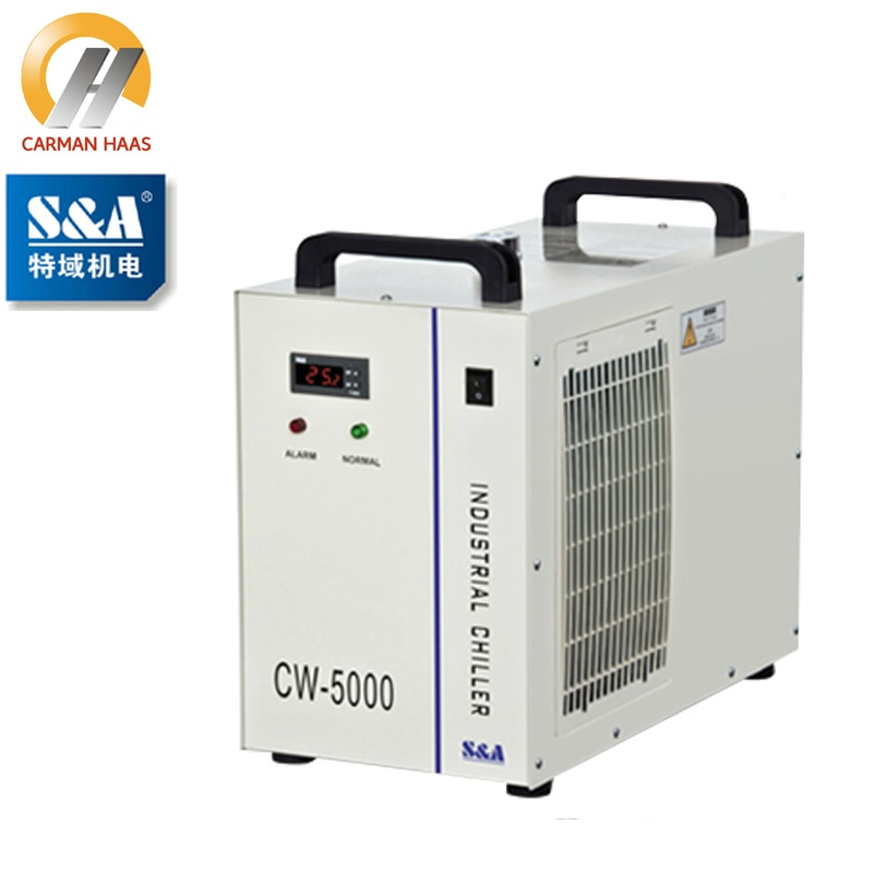 CW5000 Industry Water Chiller for CO2 Laser Engraving Cutting Machine 80W 100W Laser Tube enlarge