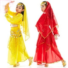 fashion Kids Belly Dance Wears with 3 colors 3 sizes in stock for Stage Show or Performance