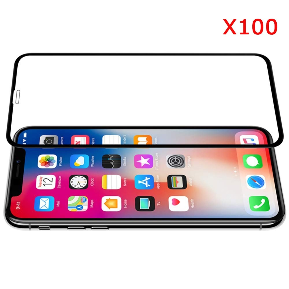 Magcle-واقي شاشة من الزجاج المقوى لهاتف iPhone ، واقي شاشة متين لهاتف iPhone Xr Xs Max X 5 5s 6 6S 7 8 Plus