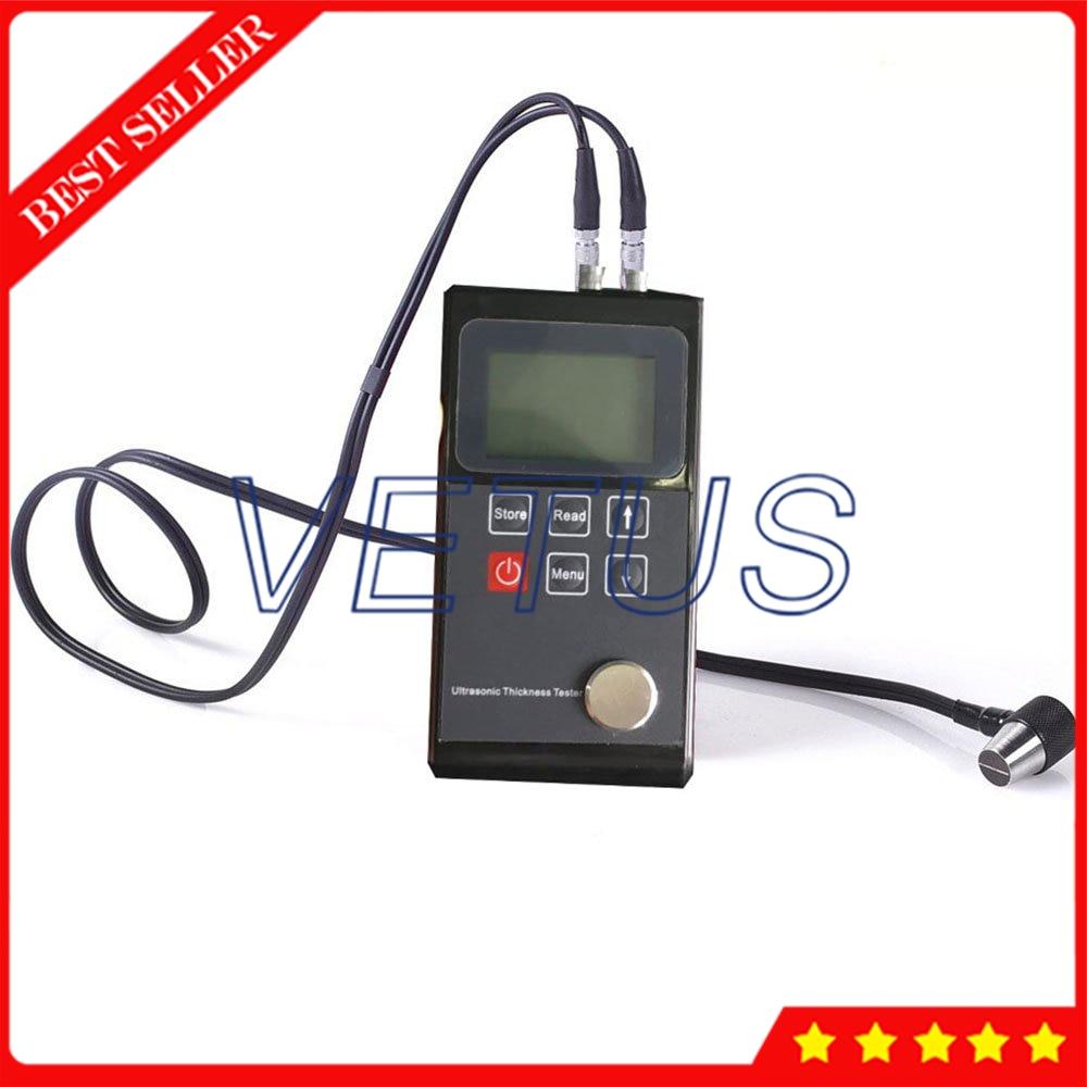 Leeb322 jauge dépaisseur à ultrasons pour métal plastique verre ultrasons épaisseur compteur résolution 0.01mm