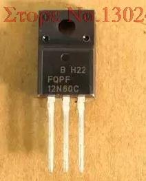 10 unids/lote FQPF12N60C a-220 12N60C 12N60 TO220 nuevo transistor MOS FET en Stock