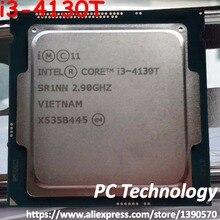 Originale Intel core i3-4130T SR1NN CPU 2.90 ghz 3 m 35 w 22nm LGA1150 i3 4130 t Dual-core processore Desktop di trasporto libero