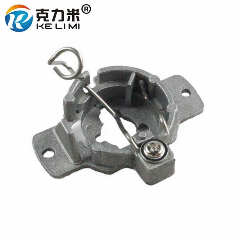 KE LI MI 2 Pieces For Mercedes-Benz 320 Bracket base H1 HID Bulbs adapters converter Xenon H1 Lamp retainers clips Aluminum