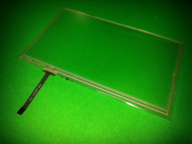 Nuevo digitalizador de pantalla táctil de 163mm * 97mm de resistencia de 4 hilos de 7 pulgadas 163*97mm panel lente envío gratis
