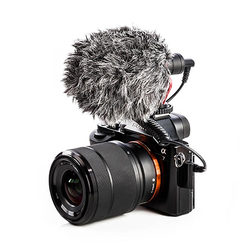 BOYA BY-MM1 видео Запись Микрофон компактный VS Rode VideoMicro на камеру Запись микрофон для Sony A7 A9 A7S2 A7R2 A7III A7R3 A7M3