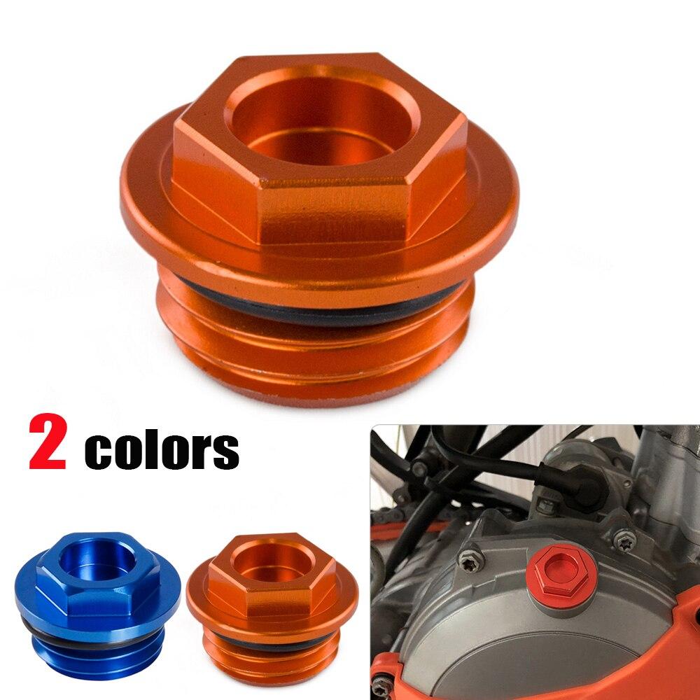 CNC Oil Filler Plug Cap For KTM 50 65 85 125 200 250 300 350 450 550 620 660 690 1290 SX SXF XC XCF EXC XCW Superduke LC4 SMC