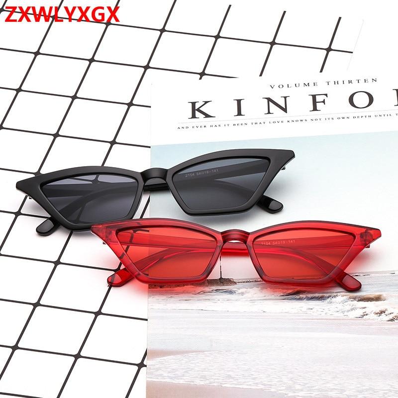 """Солнцезащитные очки """"кошачий глаз"""" ZXWLYXGX, новинка 2018, женские, фирменный дизайн, Ретро стиль, цветные, прозрачные, модные, кошачий глаз, солнцезащитные очки для мужчин, UV400"""