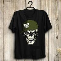 T-shirt manches courtes Homme  style Hip-Hop  avec bouclier  t-shirt de feu et de Courage  nouveau Design  ete  2019