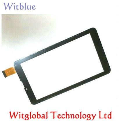 "Nuevo Digitalizador de pantalla táctil de 7 ""RoverPad cielo Gloria S7 3G/a S7 3G Tablet panel táctil de vidrio de sustitución con sensor envío gratis"