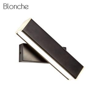 5/10/15W Modern LED Wall Light Mirror Wall Light Aluminum Sconce 350 Degrees Adjustable Indoor Art Deco Home Lighting Fixtures
