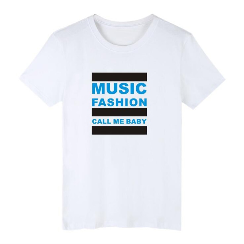 Verão Coreano kpop exo xiumin kris sehun baekhyun chanyeol T-Shirt Harajuku Feminina Mulheres Tshirts do Algodão T Camisa Marca Encabeça Tee