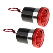2Pcs 12V Rückfahr Alarm Backup Horn Reverse Sirene Beeper Summer Warnung Alarm Auto Ersatz Teile für Auto 70 x 80x60mm