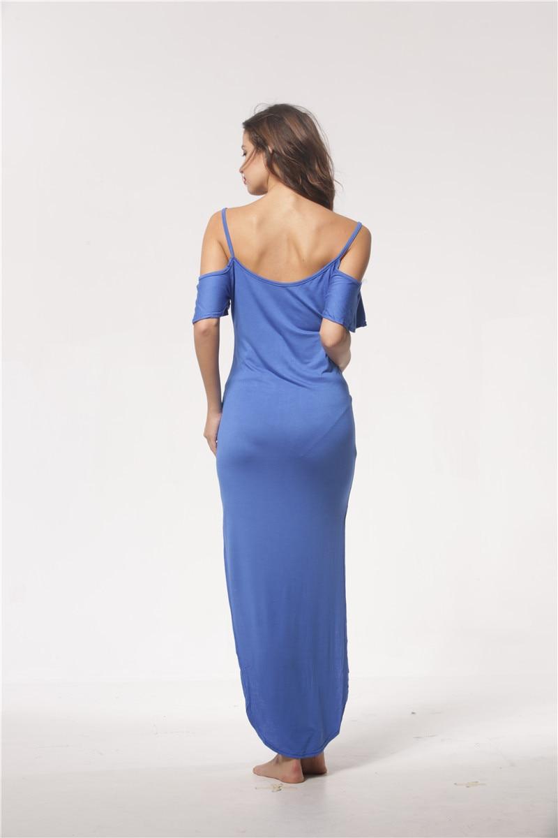 2020 Maternity Dresses Photography Props Pregnant woman strap dress Cotton XL strapless stretch pregnant women long skirt enlarge