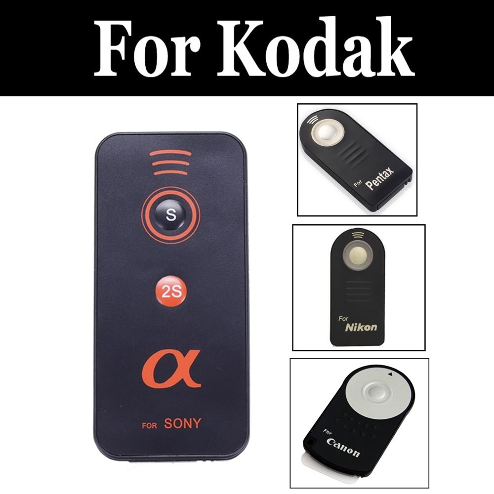 Obturador inalámbrico infrarrojo para cámara Digital con Control remoto Ir para kodak Z5010 Z5120 Z981 Z990 Pixpro Astro Zoom Az651 Pixpro S-1