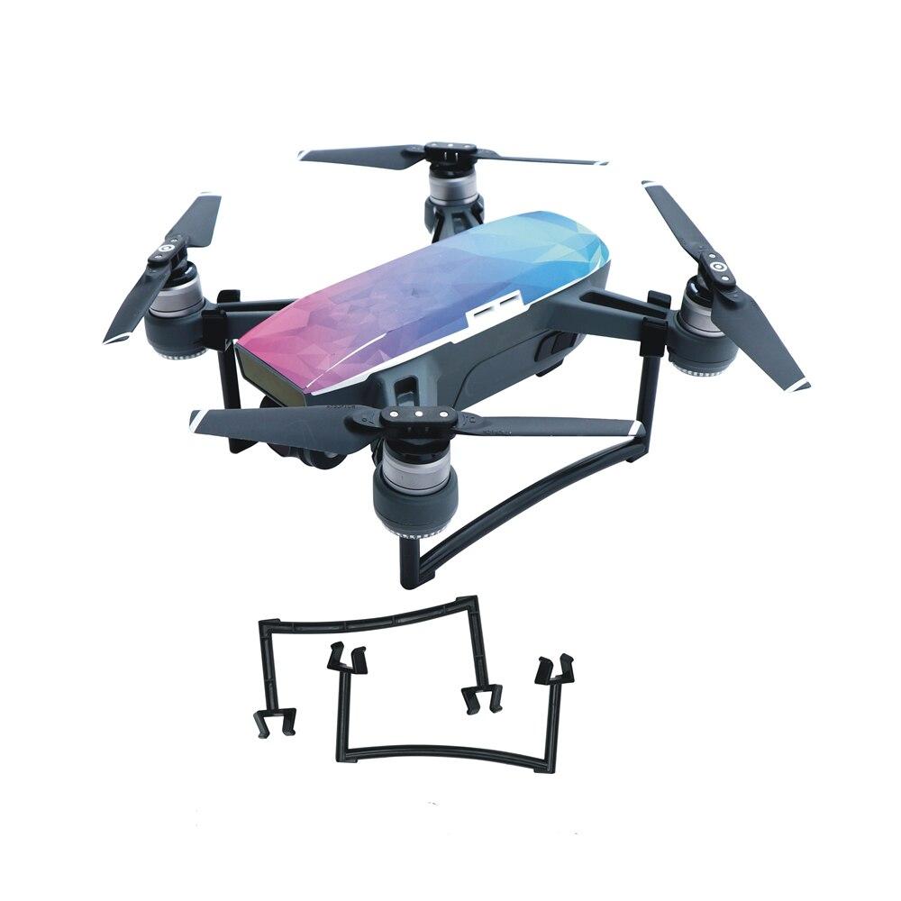 1 set dji drones Landing Gear 25mm Heighten Landing Feet Bracket Camera gimbal protection Tripod Extensions Legs for DJI Spark