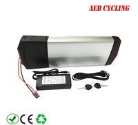 EU US free taxes 250W 350W 500W electric cargo battery pack 36V 16.5Ah RB3 rear rack battery Li-ion battery pack for rack bike