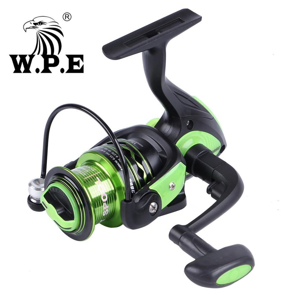 W.P.E GreenLight3 Series 3000-6000 Freshwater Spinning Reel with 3+1 Ball Bearings Carp Fishing Wheel Full Metal Spinning Wheel