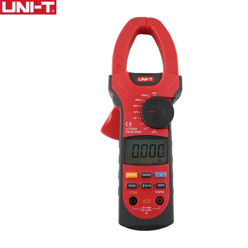 UNI-T UT209A 1000A الرقمية المشبك متر تردد قياس المتر السيارات المدى Capactance المقاومة