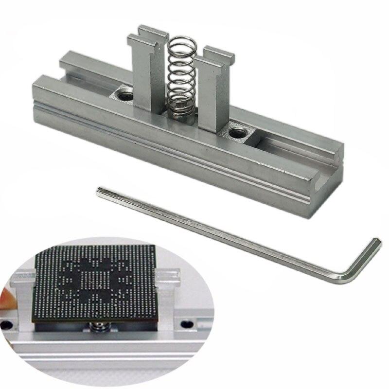 144 pcs BGA Reballing Stencils Kit  bga station solder ball flux tweezer BGA Reballing Stencil for Phone Reballing Repair enlarge