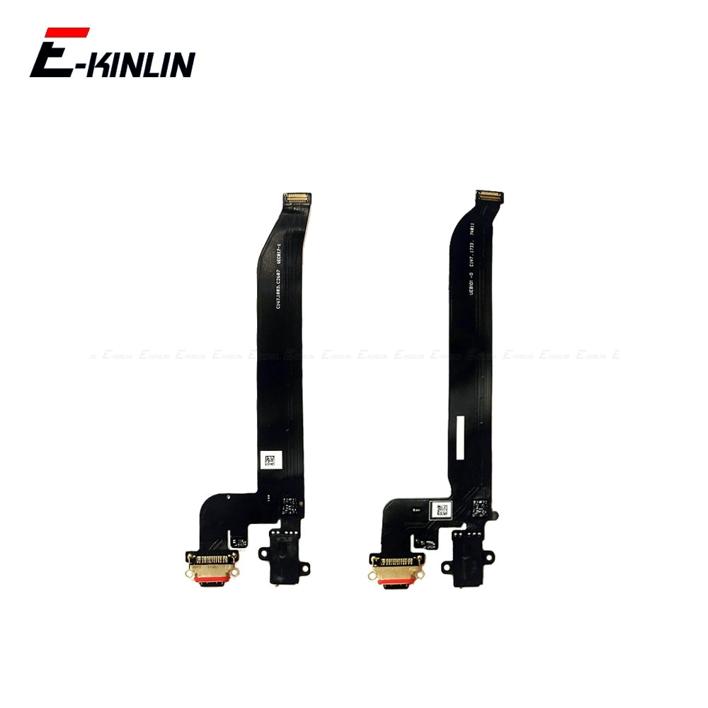High Quality For OnePlus 5 5T 6 6T 7 8 Pro Type C USB Charging Port Dock Connector Flex Cable Replac