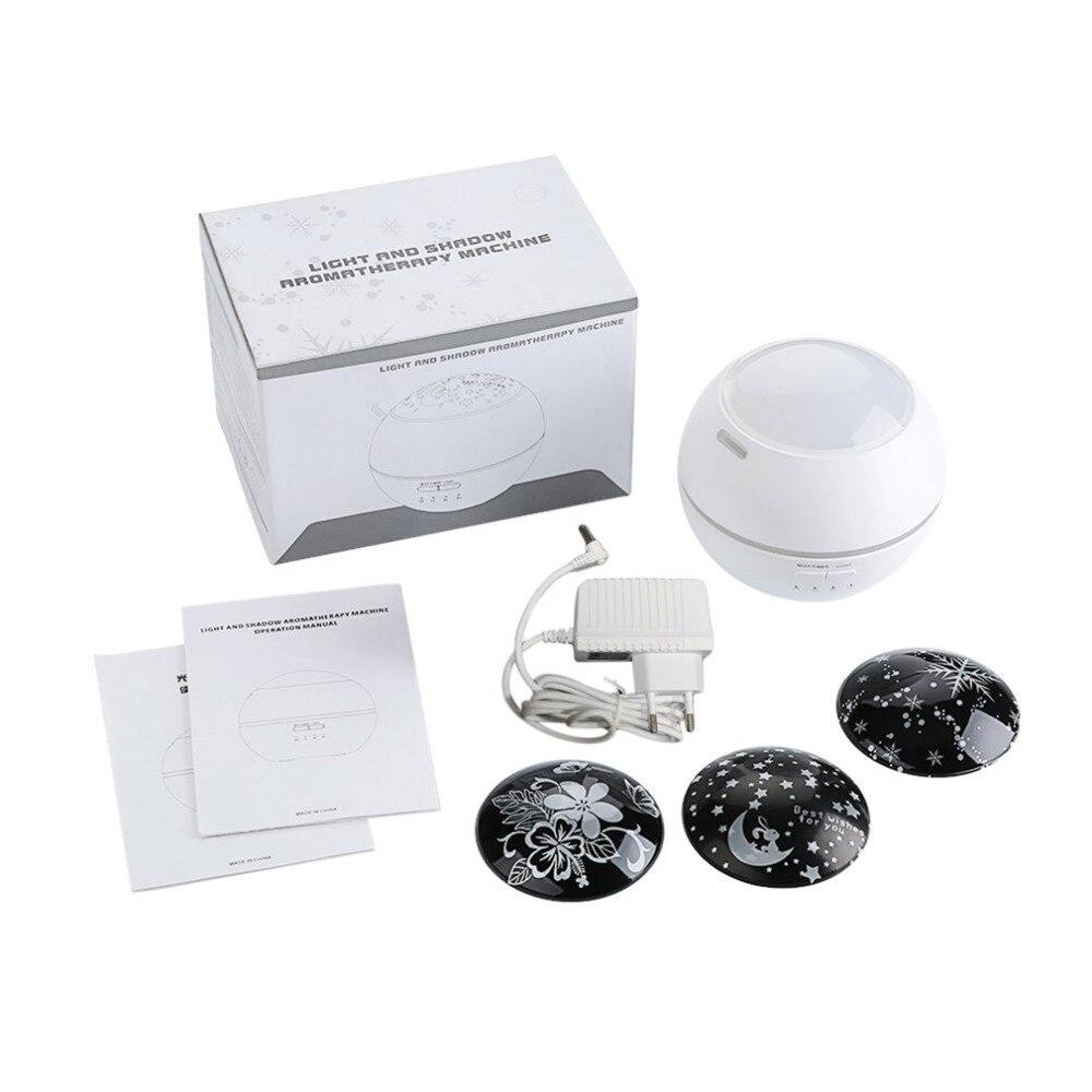 150ML diseño del proyector ultrasónico purificador de aire eléctrico humidificador difusor de aceite esencial humidificador de aire lámpara de Aroma