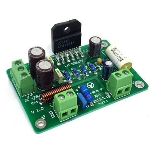 HiFi LM3886TF моно 68 Вт 4 аудио усилитель мощности плата AMP 50 Вт/38 Вт в сборе
