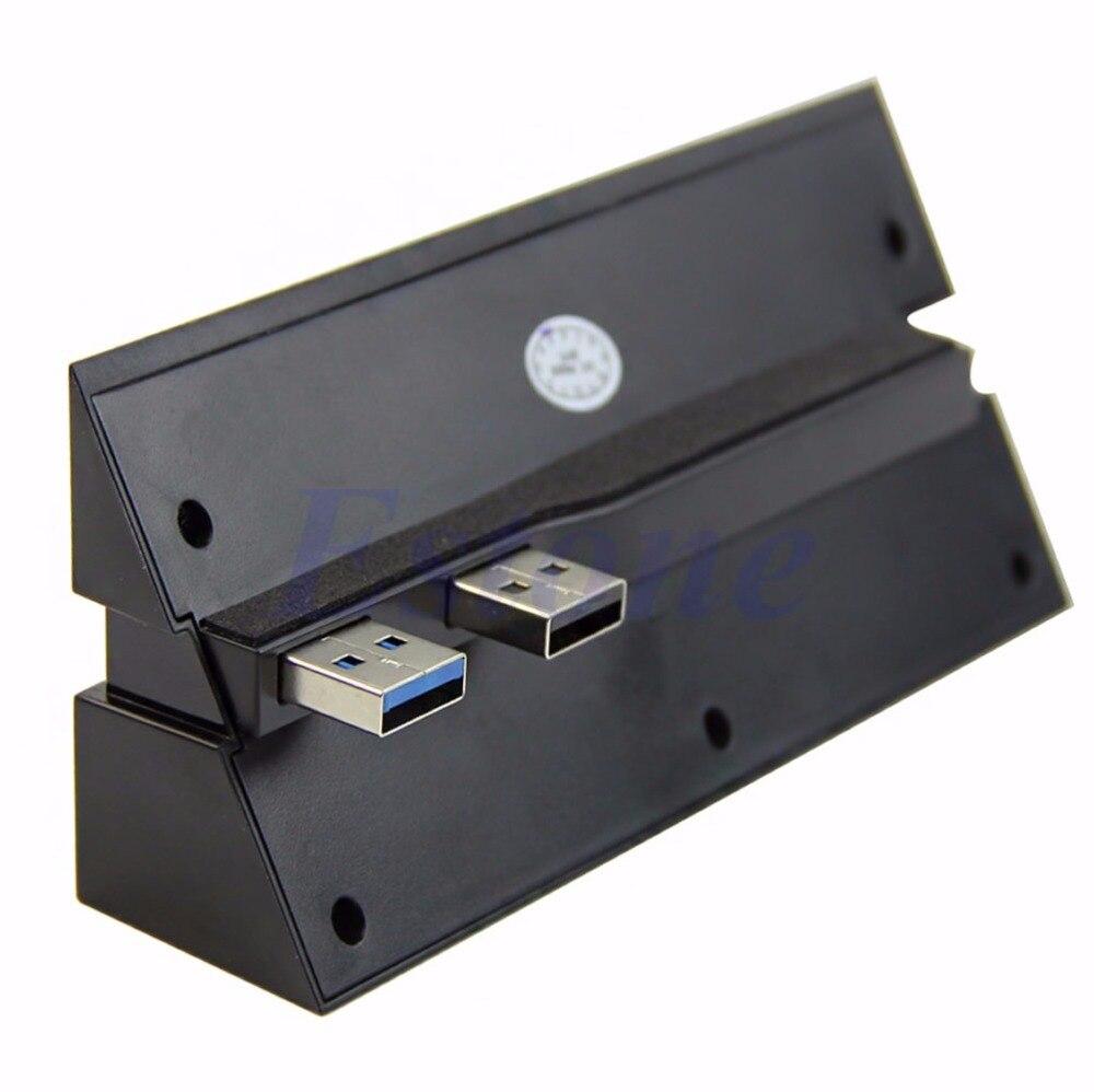 Conector adaptador de alta velocidade, 5 portas 2.0 hub usb 3.0 conector adaptador de alta velocidade para sony playstation 4 ps4-l060 novo quente