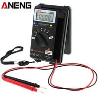 ANENG AN8203 4000 Counts True RMS Mini Digital Multimeter AC Voltage Current Tester Multimeter Ammeter Capacitance Tester