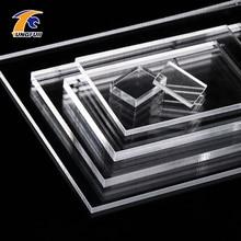 Feuilles acryliques 1mm épaisseur clair acrylique feuille de plexiglas acryliques plexiglas feuille transparente en plastique panneau de transport