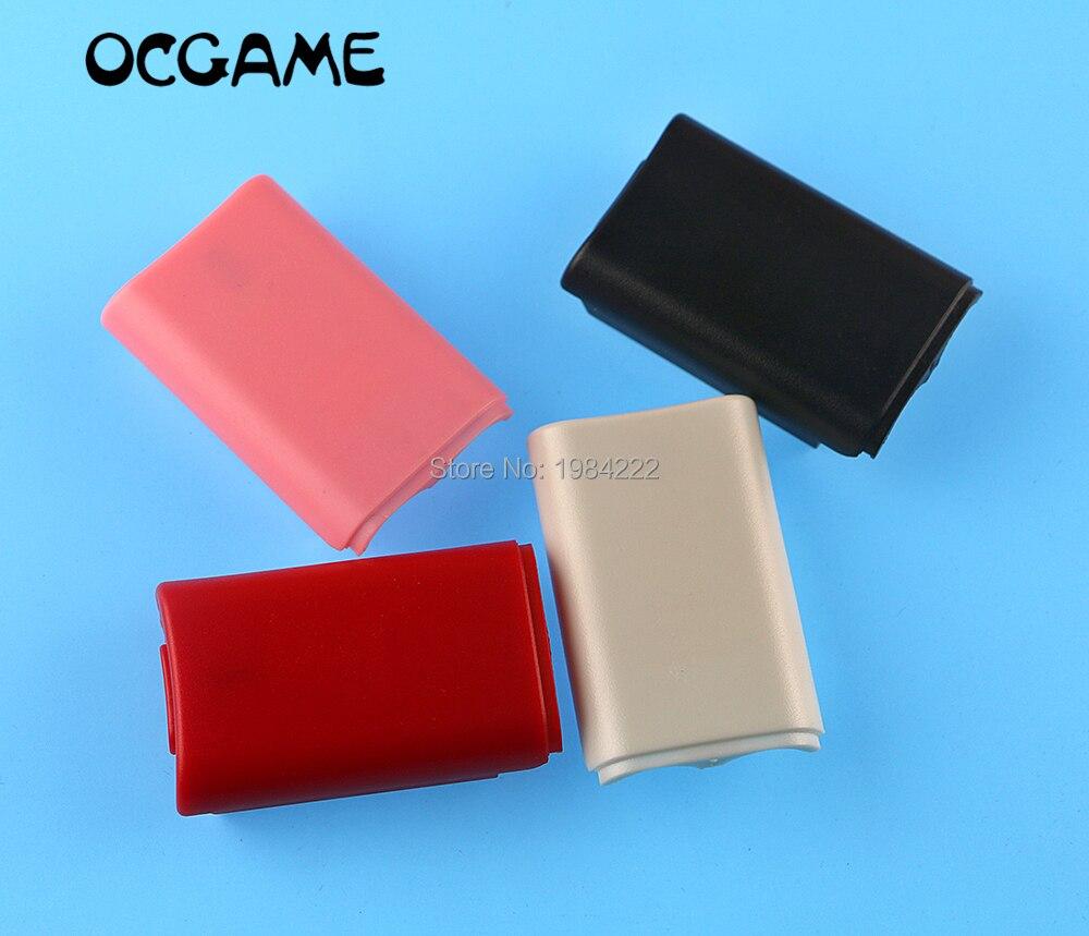 ChengChengDianWan 200 قطعة/الوحدة الألوان غطاء البطارية قذيفة ل Xbox 360 xbox360 تحكم لاسلكي بطارية قابلة للشحن