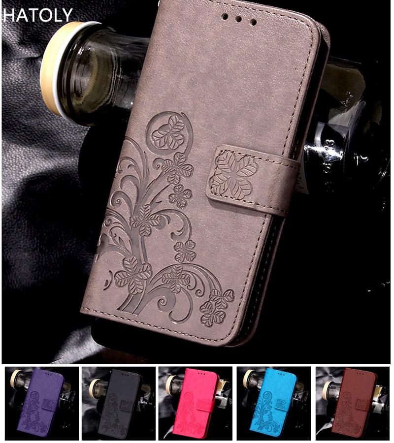 Funda For Samsung Galaxy J6 2018 Case Flip Case Phone Cover For Samsung Galaxy J6 2018 PU Leather Wa
