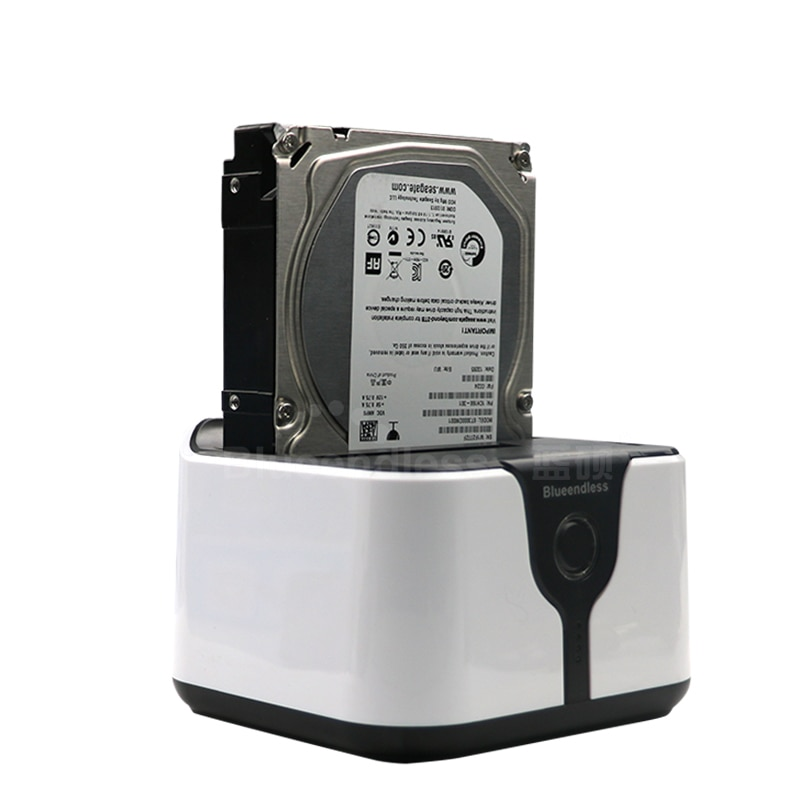 2 tray docking station for hard disk suits SATA 2.5