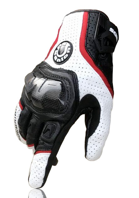 Free shipping UB 390 motorcycle gloves / racing gloves / carbon fiber gloves Genuine leather gloves 3color enlarge