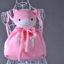 Cosplay Nanami ChiaKi cos cartoo Anime Danganronpa 3 Halloween noël filles mignon chat rose sac à dos accessoires sacs