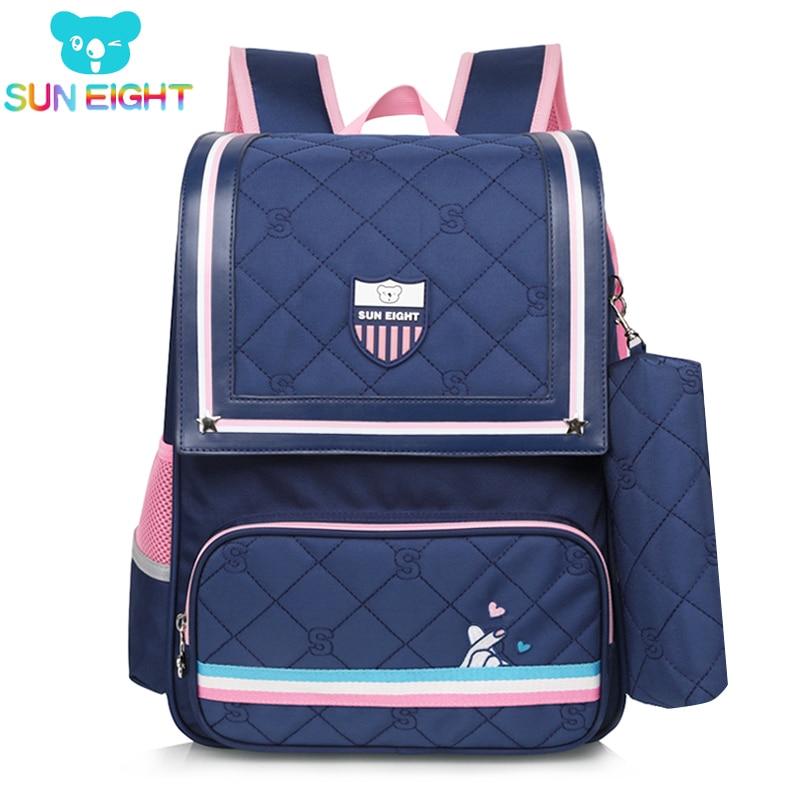 Sun eight 정형 외과 어린이 학교 배낭 학교 배낭 소녀 학교 가방 어린이 유치원 어린이 가방 mochila escolar