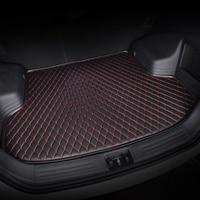 HeXinYan Custom Car Trunk Mats for Mercedes Benz all models E C SLK G GLS GLC GLA GLK CLS S GLE GL CLA ML R A B CLK class