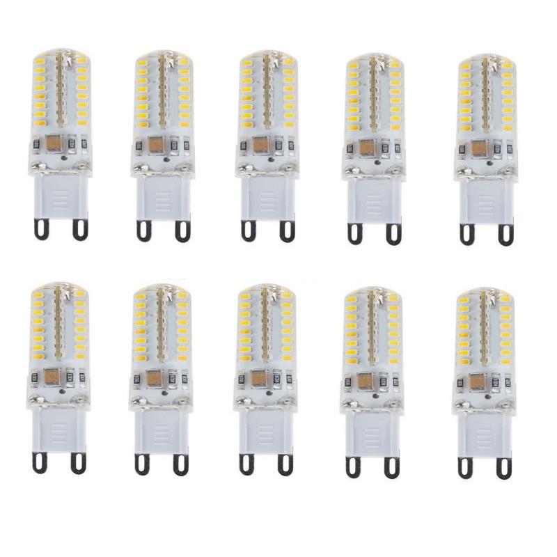 G9 E14 3,5 Вт 64 светодиода, 3014 350 лм, теплый белый или естественный белый Настольный светильник, настенный светильник, AC110V, AC220V, двухконтактный св...