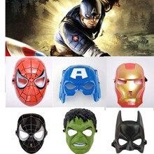 2020 Spiderman Los vengadores de Marvel 3 años de Ultron Hulk Viuda Negra visión ultrón Iron Man Capitán América modelo de figuras de acción Juguetes