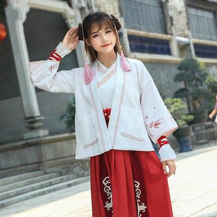 Ropa Han de estilo chino atractivo, vestido antiguo para mujer, bonito disfraz de Halloween hecho a medida, ropa de actuación