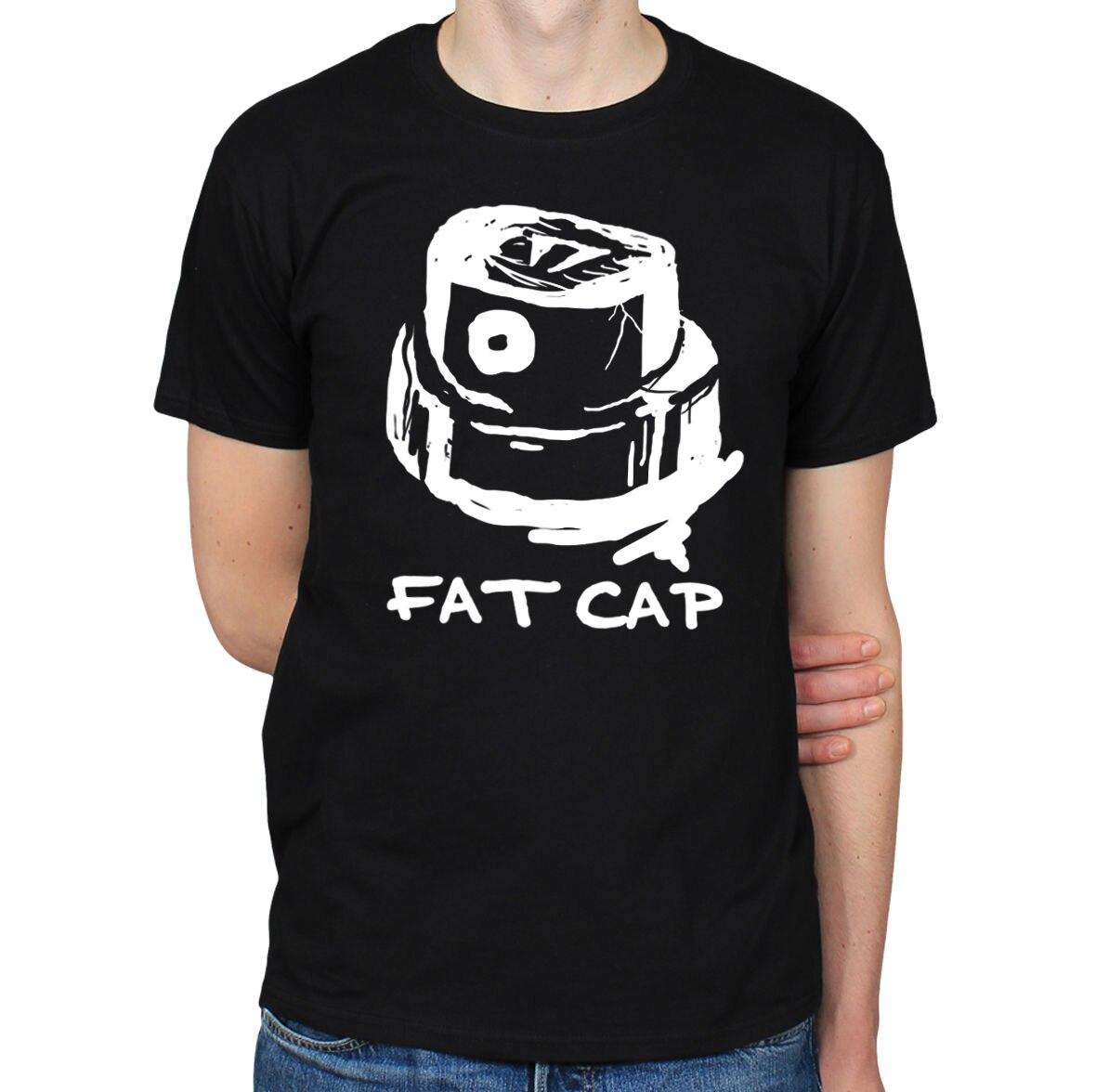 Футболка с толстой кепкой, разбрызгивающая граффити, уличное искусство, разбивание, футболка с изображением сцены футболка, высокое качест...