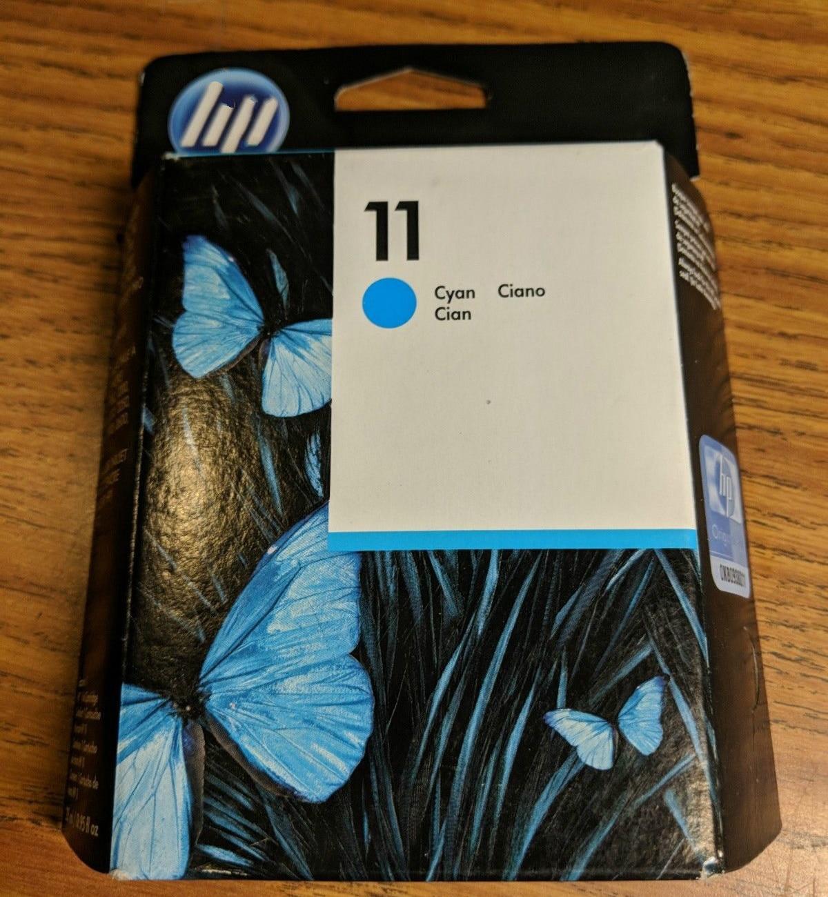 Оригинальный и срок годности чернильный картридж C4836A для HP 11 Business Inkjet 1000 1200 2600 для HP DesignJet 100 для HP OfficeJet 9110