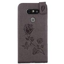 Pour Coque lg g5 etui cuir portefeuille lg G5 H830 H850 protecteur Coque de téléphone étui pour lg g5 lg 5 Coque arrière pour téléphone portable